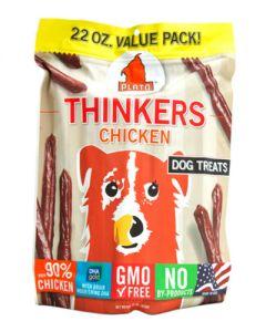 Plato Dog Thinkers Chicken Dog Treats