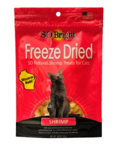 SO Bright Freeze Dried Shrimp Cat Treats
