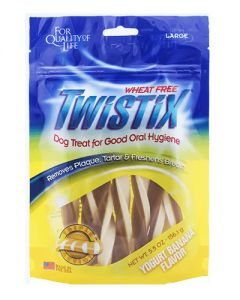 NPIC Twistix Yogurt & Banana Dog Treat