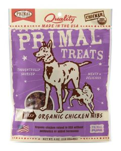 Primal Jerky Organic Chicken Nibs - Treats