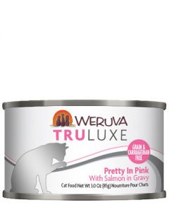 Weruva TruLuxe Pretty in Pink Salmon Canned Cat Food