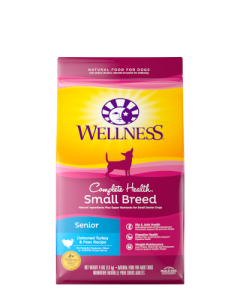 Wellness Complete Health Small Breed Senior Dog Food