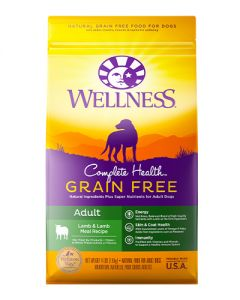 Wellness Complete Health Grain Free Adult Lamb Dry Dog Food