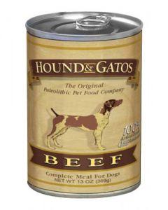 Hound & Gatos Beef Canned Dog Food