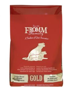 Fromm Family Foods -  Large Breed Weight Management Gold Dog Food