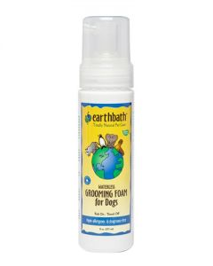 Earthbath Hypo-Allergenic & Fragrance-Free Waterless Grooming Foam for Dogs & Puppies