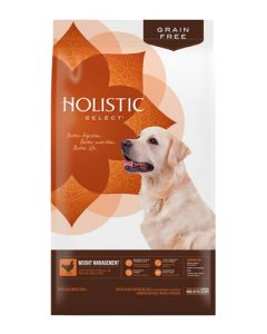 Holistic Select Grain Free Weight Management Dog Food