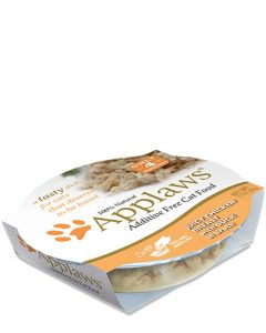 Applaws Chicken Breast & Duck Peel Top Dish Wet Cat Food