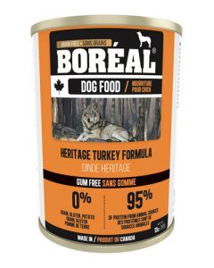 Boreal Heritage Turkey Grain Free Canned Dog Food