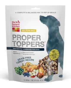 The Honest Kitchen Grain Free Turkey Proper Toppers