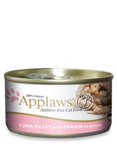 Applaws Tuna Fillet & Prawn Canned Cat Food