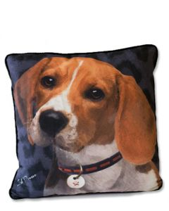 POPPA-ARTZEE - Beagle Throw Pillow