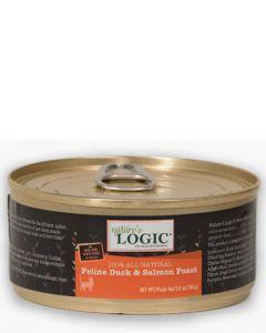 Nature's Logic Feline Duck & Salmon Feast Canned Food