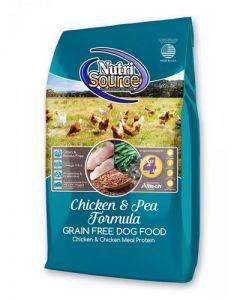 NutriSource Grain Free Chicken & Pea Formula Dog Food