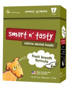 Smart n' Tasty Fresh Breath Large Dog Treats