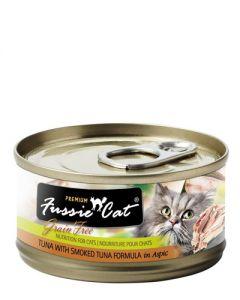 Fussie Cat - Premium Tuna with Smoked Tuna in Aspic Canned Cat Food