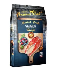 Fussie Cat - Market Fresh Salmon Dry Cat Food