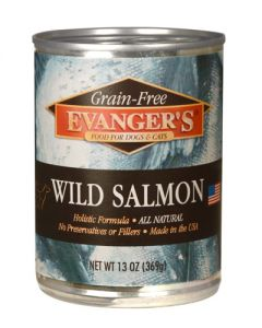 Evangers Grain Free Wild Salmon Canned Dog & Cat Food