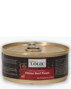 Nature's Logic Feline Beef Feast Canned Food