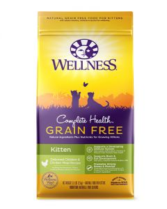 Wellness Complete Health Grain Free Kitten Dry Cat Food