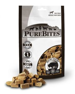 PureBites Freeze Dried Bison Dog Treats