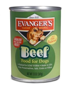 Evangers Classic Line 100% Beef Canned Dog Food