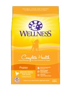 Wellness Complete Health Puppy Chicken, Oatmeal & Salmon Dog Food