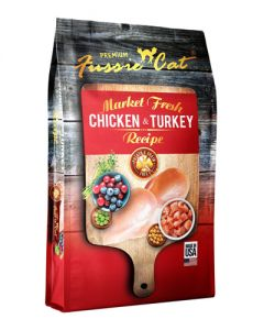 Fussie Cat - Market Fresh Chicken & Turkey Dry Cat Food