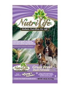 Nutri Life Grain Free Duck Dog Food