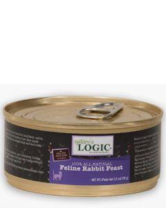 Nature's Logic Feline Rabbit Feast Canned Food