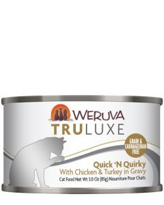 Weruva TruLuxe Quick N Quirky Chicken and Turkey Canned Cat Food