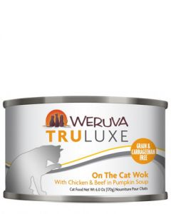 Weruva TruLuxe On The Cat Wok Chicken and Beef Canned Cat Food