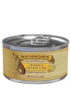 Hound & Gatos Chicken & Chicken Liver Canned Cat Food