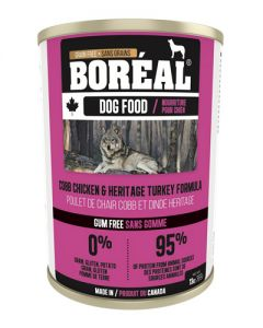 Boreal Cob Chicken & Heritage Turkey Grain Free Canned Dog Food