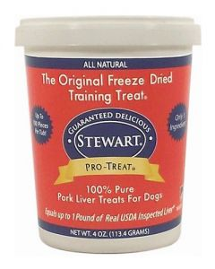 Stewart - Pro Treat Raw Freeze Dried Pork Liver