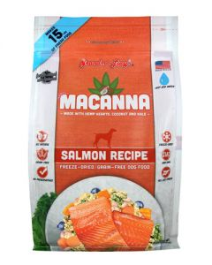 GRANDMA LUCY'S Macanna Salmon Grain Free Freeze Dried Dog Recipe