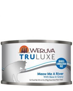 Weruva TruLuxe Meow Me a River Basa Canned Cat Food