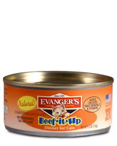 Evangers Gourmet Classic Beef It UP Dinner Canned Cat Food