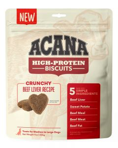 ACANA High-Protein Biscuits Crunchy Beef Liver Recipe Dog Treats