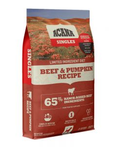 ACANA Singles Limited Ingredient Diet Grain Free Beef & Pumpkin Dog Food