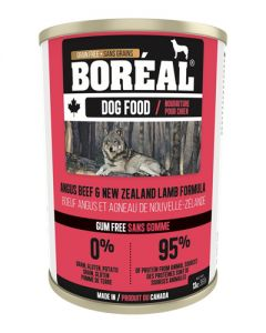 Boreal Angus Beef & Lamb Grain Free Canned Dog Food