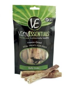 Vital Essentials® Freeze-Dried Bully Sticks Grain Free Limited Ingredient Dog Treats
