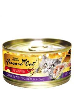 Fussie Cat - Super Premium Chicken with Duck in Gravy Canned Cat Food