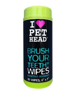 Pet Head Inc Brush Your Teeth Dog Wipes