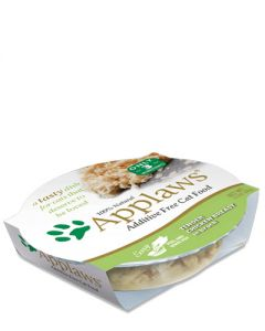 Applaws Chicken Breast & Rice Peel Top Dish Wet Cat Food
