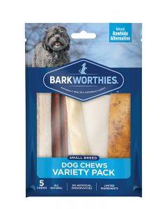 Barkworthies Small Breed Variety Pack Dog Chews