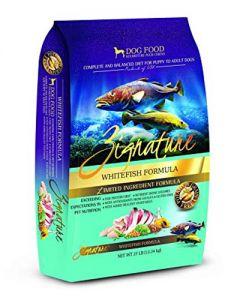 Zignature Whitefish Limited Ingredient Formula Dry Dog Food