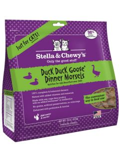 Stella & Chewy's Freeze Dried Duck Duck Goose  - CAT Dinner