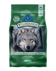 Blue Wilderness Grain Free Duck Recipe Dry Dog Food