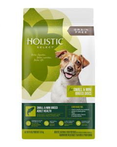 Holistic Select Grain Free Small & Mini Breed Adult Dog Food
